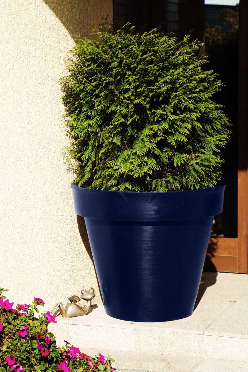 Купить Вазон-горшок садовый PD CONCEPT Saturn PL-SA55, цвет синий