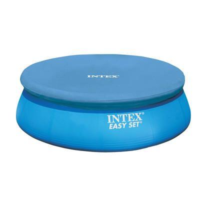 28021/58938 Тент-чехол для бассейнов Изи Сет (Easy Set) 305см Intex (Интекс)
