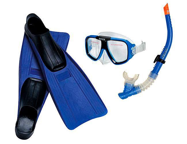 Набор для плавания (маска, трубка, ласты) Intex (Интекс) 55957