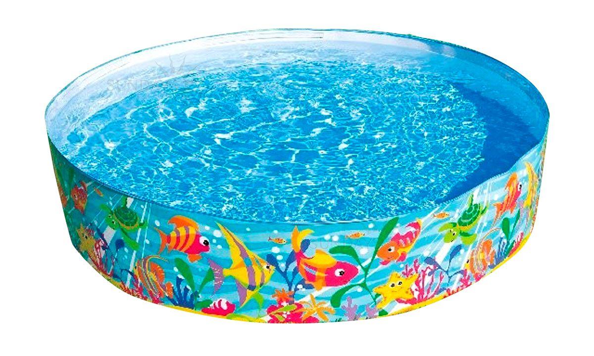 Каркасный (детский) бассейн Intex 56452NP 183x38 см