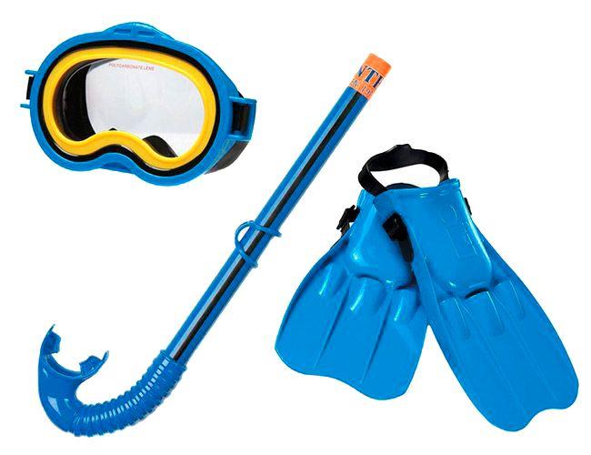 Набор для плавания (маска, трубка, ласты) Intex (Интекс) 55952
