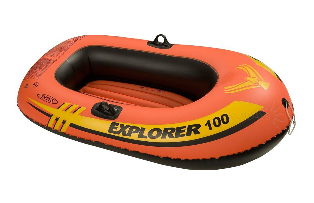 Лодка надувная 147х84х36 см, Explorer 100 Intex (Интекс) 58329NP