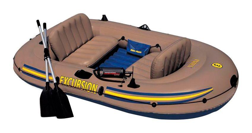 Лодка надувная 262х157х42 см, Excursion 3 Intex (Интекс) 68319NP