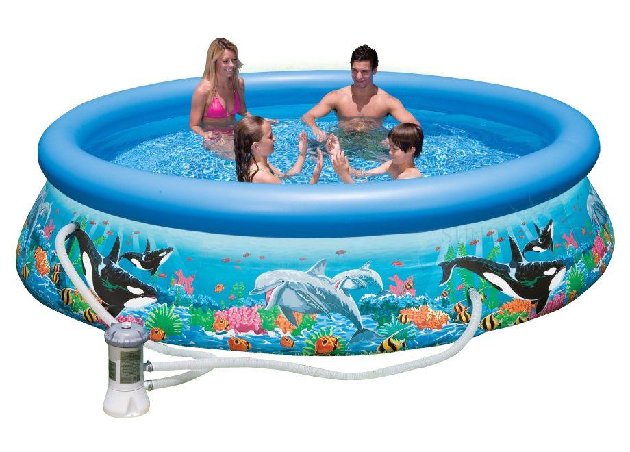 Надувной бассейн Intex Easy Set 28126/54902 305х76 см + картриджный фильтр