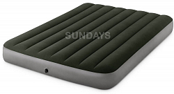 64109 Надувной матрас Intex Prestige Downy Airbed (152x191x25) Fiber-Tech