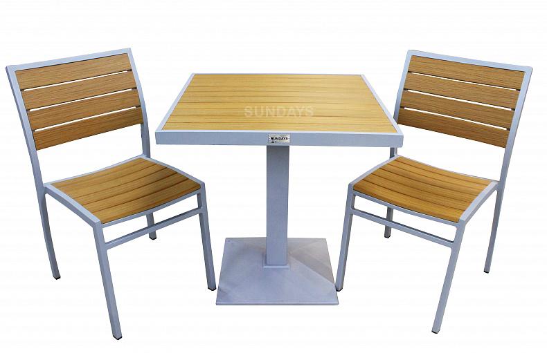 комплект мебели для кафе и ресторанов Sundays Street Dt 390