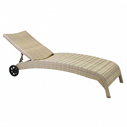 Шезлонг WICKER Garden4you 11759
