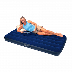 Надувной матрас Intex Twin Classic Downy Bed 68757 99х191х22 см