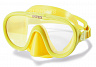 55916 Маска для плавания Sea Scan Swim Masks, Intex (желтый)