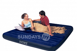 64755 Надувной матрас Intex DURA-BEAM SERIES CLASSIC DOWNY AIRBED 183х203х25см (King)