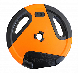 Диск для штанги Sundays Fitness IR91041 (10 кг)