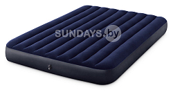64759 Надувной матрас Intex DURA-BEAM SERIES CLASSIC DOWNY AIRBED 152х203х25см (Queen)